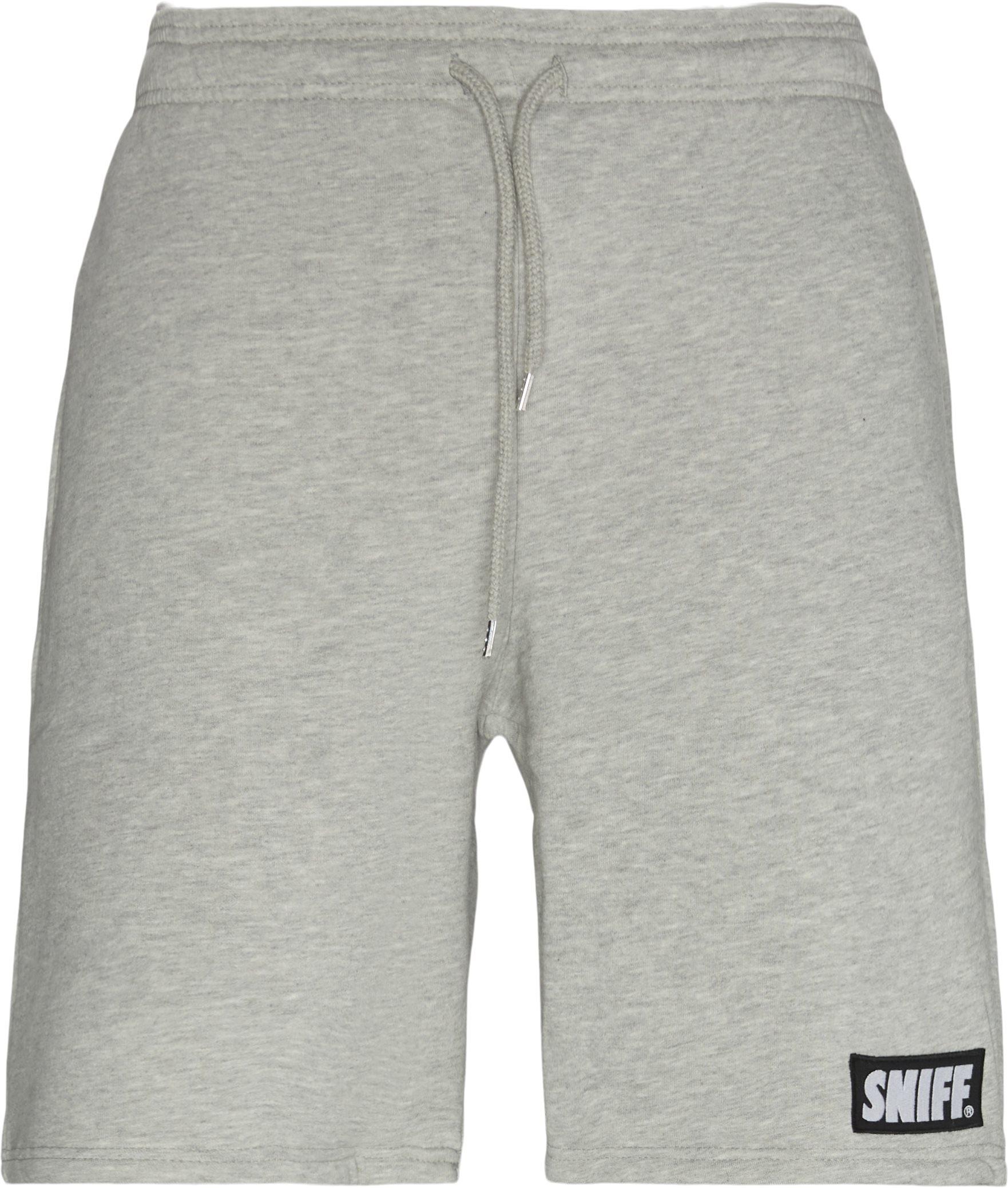 Shorts - Regular fit - Grå
